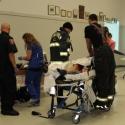 CPR being preformed.